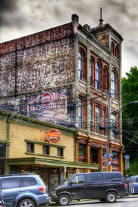 Tucked into a back corner of Port Townsend, WA, The Rose Theatre opened in 1907 and is still going strong.