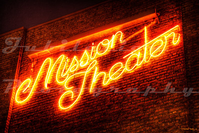 The Mission Theater, Portland, OR.  The building was constructed in 1912 and served as a church.  It was opened as a theater (and appropriately named) in 1987.