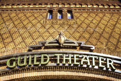 "The Guild Theater, Sacramento, CA.  Opened in 1915 as the Victor Theatre, it became the ""New Oak Park Theatre"" in 1931, and then the Guild Theater in 1951."
