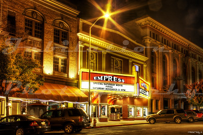 The Empress Theatre, Vallejo, CA.  Opened in 1912 as the Empress but was renamed the Republic.  After Fox West Coast Theatres took over, it became the Vallejo, then the Senator, then the Crest.  Apparently, FWCT couldn't make up their minds.  It closed in the early 1960's, but opened in the 80's as the Empress once again.