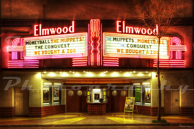 The Elmwood in Berkeley, CA.  It opened in 1914 and has closed on occasion every since.  At some point, it was modernized.