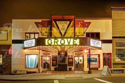 The Theatre in the Grove, Forest Grove.  Originally opened as the Star Theatre in 1012.