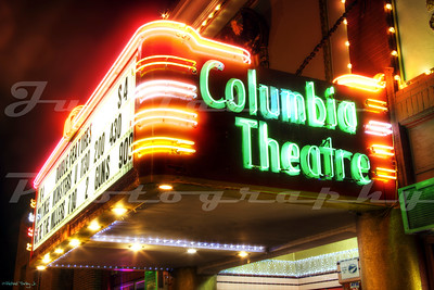 The Columbia Theater, Saint Helens, OR.  Opened in 1928.
