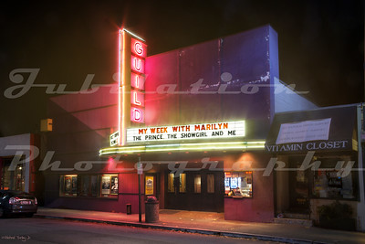 The Guild Theatre in Meno Park, CA, opened in 1926 as the Menlo Theatre.  The name was changed in the 1940's.