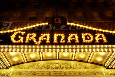 The Granada Theater, Santa Barbara, CA.  Opened in 1924 and underwent a major facelift in 2008.
