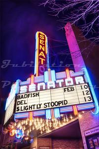 The Senator Theatre in Chico, CA, opened in 1927.