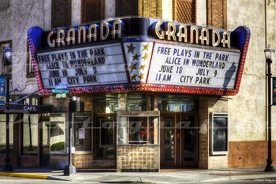 The Granada TheatreThe Granada Theatre, The Dalles, OR.  Opened in 1929, and lasted until the 2000's.  It now sits empty, but according to a The Dalles new article, it's due for a renovation.