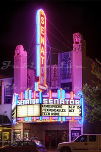 The Senator Theatre in Chico, CA, opened in 1927.