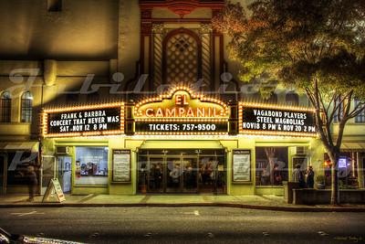 The El Campanil Theatre, Antioch, CA.  Opened in 1928.