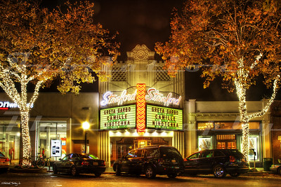 The Stanford Theatre, Palo Alto, CA.  Opened in 1925 and still going strong, showing Golden Age movies.