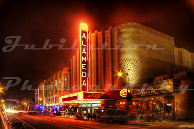 The Alameda Theatre, Alameda, CA.  Opened in 1932.