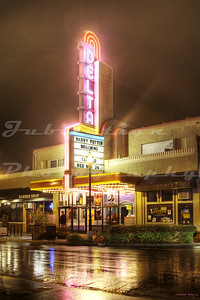 The CineLux New Delta Cinema, Brentwood, CA.  Opened in the 1930's as the Delta Theater.