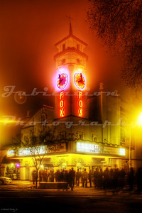 The Visalia Fox Theatre, Visalia, CA.  It opened in 1930.