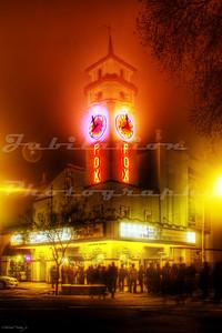 The Visalia Fox Theatre, Visalia, CA.  It opened in 1930.