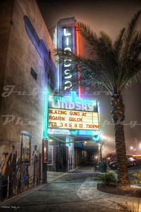 The Lindsay Theater, Lindsay, CA.  Opened in 1933.  They show mostly old time movies.