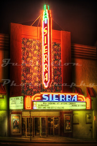 The Sierra Theatre, Susanville, CA.  Opened in the 1930's.
