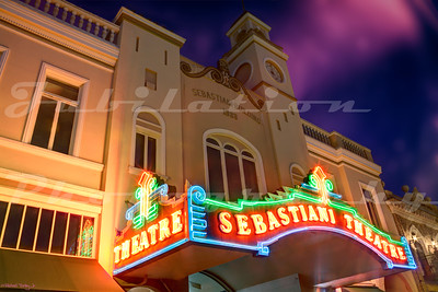The Sebastiani Theatre, Sonoma, CA.  Opened by the wine making Sebastiani family in 1933.