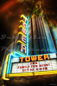 The Tower Theater, Roseville, CA.  Opened in 1939 as a movie house and now a live performance theater.