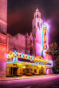 Opened in 1930 as the Fox California Theatre in Stockton, CA.  It closed in the '70's, but reopened in 1996.  It was renamed the Bob Hope Theatre in 2004.