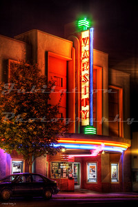 The Varsity Theater, Ashland, OR.  Opened in 1937.