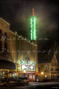 The Del Oro Theatre, Grass Valley, CA.  Opened in 1942.