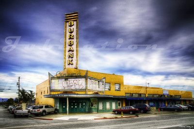 The Burbank Cinema, San Jose, CA.  Opened in 1949.  Apparently, it was shut down in March of 2000 as a public nuisance by the Santa Clara County D.A.