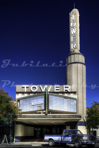 The Tower Theater, Marysville, CA.  Opened in 1941, and I think it closed sometime in the 1970's.  It's now a Sutter County Museum.