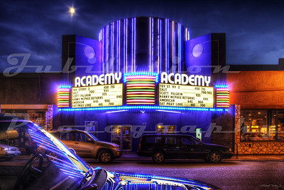 The Academy Theatre, Portland, OR.  Opened in 1948.