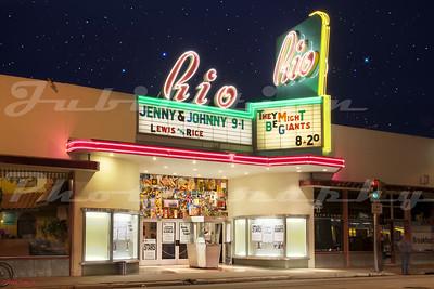 The Rio Theatre, Santa Cruz, CA.  Opened in 1949.