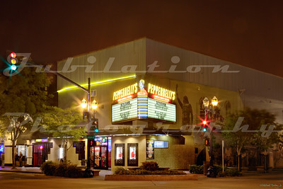 Pepperbelly's Comedy and Variety Theater In Fairfield, CA.  Opened as the Solano Theater in 1941.  The theater burned down in 2013.