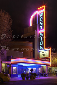 The beautifully maintained West Side Theatre, Newman, CA.  Opened in 1940.
