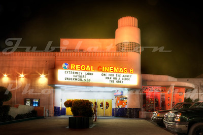 The Ukiah Theatre, Ukiah, CA.  Opened in 1948.  Now owned by Regal Cinema's.
