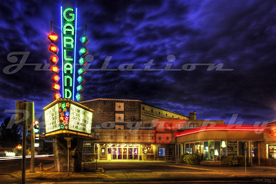The Garland Theatre, Spokane, WA.  Opened in 1945.