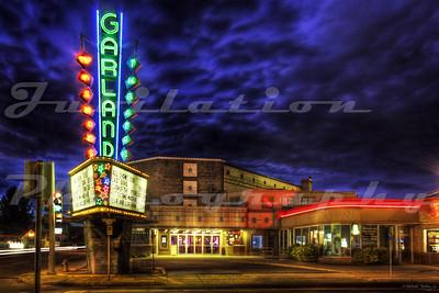 The Garland Theatre, Spokane, WA.  Opened in 1945.