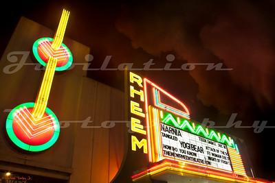The Rheem Theatre, Moraga, CA.  Opened in 1957.