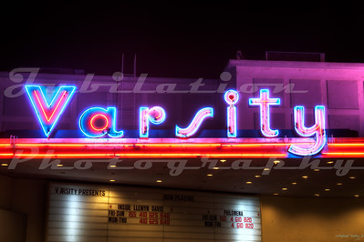 The Varsity Theatre, Davis, CA.  Opened in 1950.