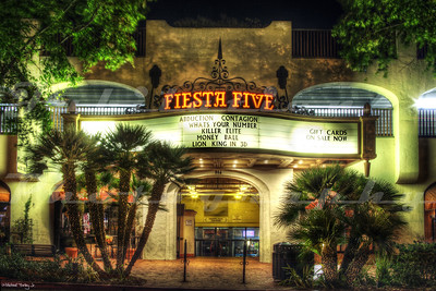 The Fiesta Five Theatre, Santa Barbara, CA.  Opened in 1979 as the Fiesta Four Theatre.
