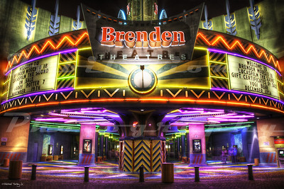 The Brenden Theatres Modesto 18, Modesto, CA.  Opened in 1999.