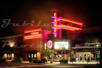 The Canby 8 Cinema, Canby, OR.  Opened in 2009.  Personally, I like the architectural nod to Art Deco.