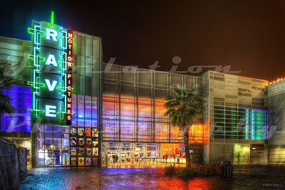 The Rave Motion Pictures Brentwood 14 in Brentwood, CA.  Opened in 2008.  Recently became an AMC theater.