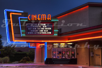 The Mill Creek Cinema, McKinleyville, CA.  Opened sometime in the 2000's.