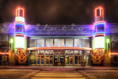 The Boulevard Cinemas, Petaluma, CA.  Opened in 2005.
