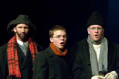 """The Christmas Schooner"" performed at Belvidere High School December 6, 2007. ? Cody Siemers as Peter Stossel Joey Bluege as Gustav Stossel"