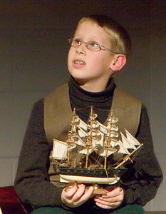 """The Christmas Schooner"" performed at Belvidere High School December 6, 2007. Ryan McKnight as Karl Stossel at age 9"