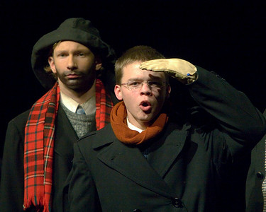 """The Christmas Schooner"" performed at Belvidere High School December 6, 2007. ? Joe Bluege as Peter Stossel"