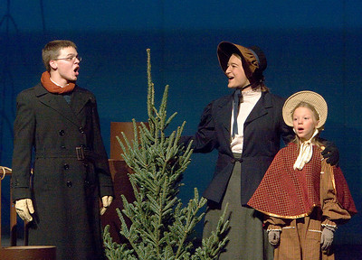 """The Christmas Schooner"" performed at Belvidere High School December 6, 2007. Cody Siemers as Peter Stossel ? ?"