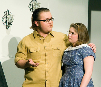 Johnny Lammersfield as Giles Ralston and Dani Hillis as Mollie Ralston