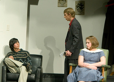Johnny Perez as Major Metcalf, Patrick Bird as Detective Sergeant Trotter, and  Dani Hillis as Mollie Ralston