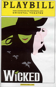 Wicked - Oriental Theatre (Ford Center for performing Arts)- Chicago