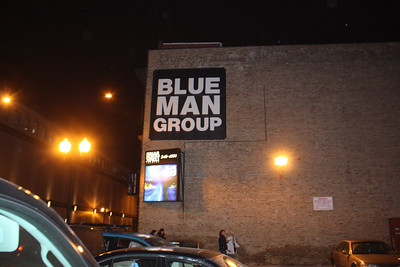 20090117 Blue Man Group 014